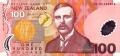 100 новозеландских долларов аверс