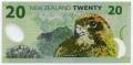 20 новозеландских долларов реверс