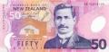 50 новозеландских долларов аверс