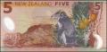 5 новозеландских долларов реверс