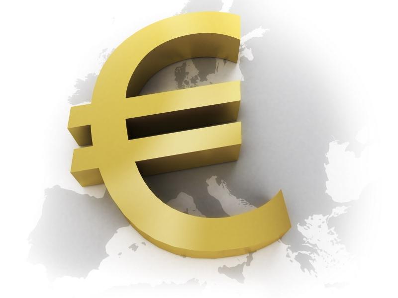 рисунок евро: