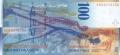 100 швейцарских франков реверс