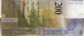 200 швейцарских франков реверс