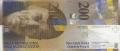 200 швейцарских франков аверс