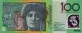 100 австралийских долларов аверс