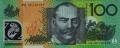 100 австралийских долларов реверс