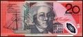 20 австралийских долларов аверс