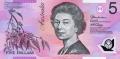 5 австралийских долларов аверс