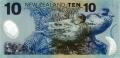 10 новозеландских долларов реверс