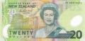 20 новозеландских долларов аверс