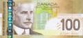 100 канадских долларов аверс